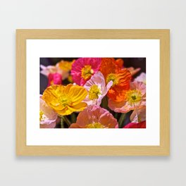 Bright Bunch Framed Art Print