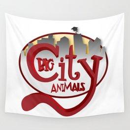 Big City Animals Wall Tapestry