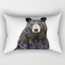 Black Bear Rectangular Pillow