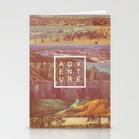 adventure Stationery Cards featuring Adventure by Zeke Tucker