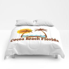 Cocoa Beach - Florida. Comforters
