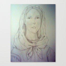 St. Dymphna Canvas Print