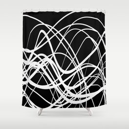Intersecting Flow Shower Curtain
