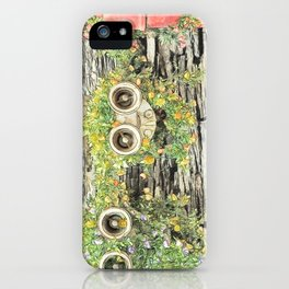 Lovely Fire Hydrant In Street Corner  iPhone Case