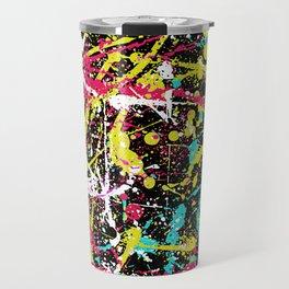 Abstract fans 3 Travel Mug