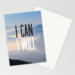 I Can I Will Stationery Cards