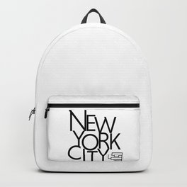 New York City - Building Sideways - 57 Montgomery Ave Backpack