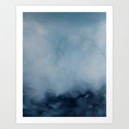 Oil Art Print