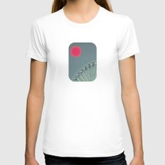 For the Suns Amusement Womens Fitted Tee White SMALL
