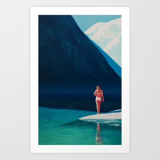 Indian Summer - 2015 Art Print