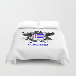 Iceland Uefa Euro 2016 Duvet Cover