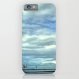 A Rig Passing (Digital Art) iPhone Case