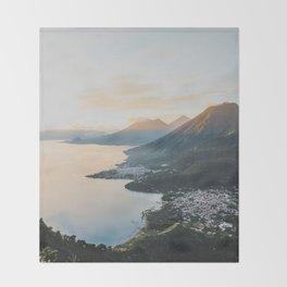 Lake Atitlán II, Guatemala Throw Blanket