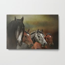 Wild & Free Back In the Day Metal Print