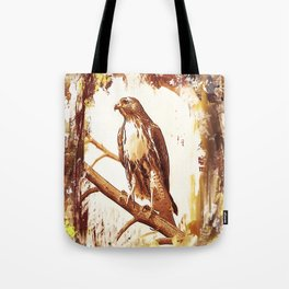 Shouldered Hawk - Graphics Tote Bag