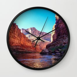 Floating the Colorado *resized* Wall Clock