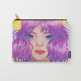 Violetta [Copic and Colored Pencil Semirealistic Portrait] Carry-All Pouch