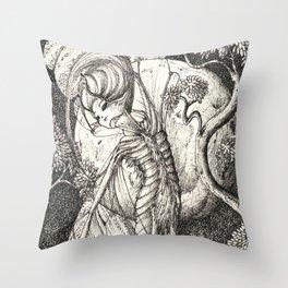 Night fairy Throw Pillow