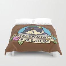 Millennial Falcon Duvet Cover