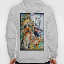 Old Man & The Sea  Hoody