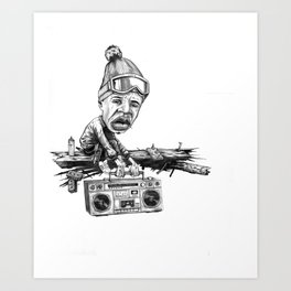 The State of Hip-Hop Art Print