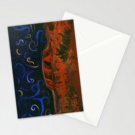 Uluru by Night Stationery Cards
