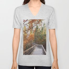 Wonderous Autumn Unisex V-Neck