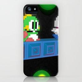Inside Bubble Bobble iPhone Case
