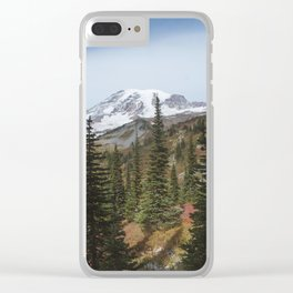 Mount Rainer Clear iPhone Case