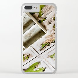 A Peeling Ceiling Clear iPhone Case