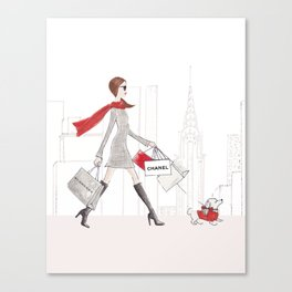 Shopping Spree Canvas Print