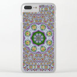 summer bloom in floral spring time Clear iPhone Case