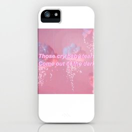 Crybaby iPhone Case