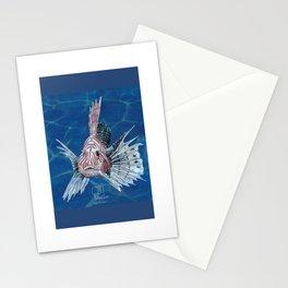scorpion fish Stationery Cards