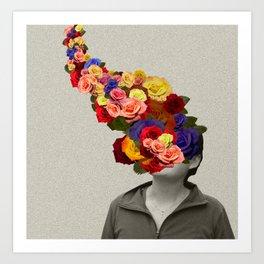 Flowerhead Art Print