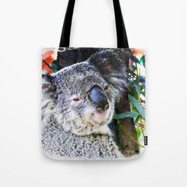 Koala smiling face Tote Bag