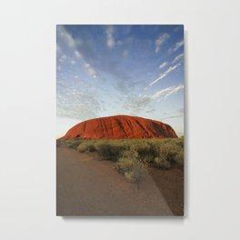 Ayers Rock in Australia Metal Print