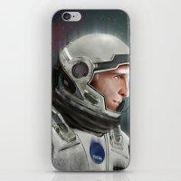 interstellar iPhone & iPod Skins featuring Interstellar by San Fernandez