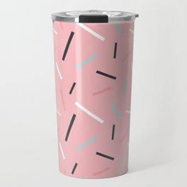 Funky memphis pattern Travel Mug