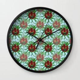 Killer Rose Wall Clock