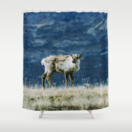 The North | Reindeer Shower Curtain