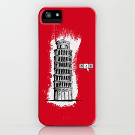 Italic iPhone Case
