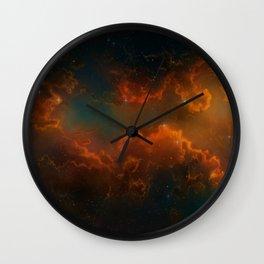 Nebula Glow Cloud   Wall Clock