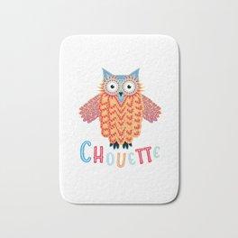 Chouette Owl Bath Mat