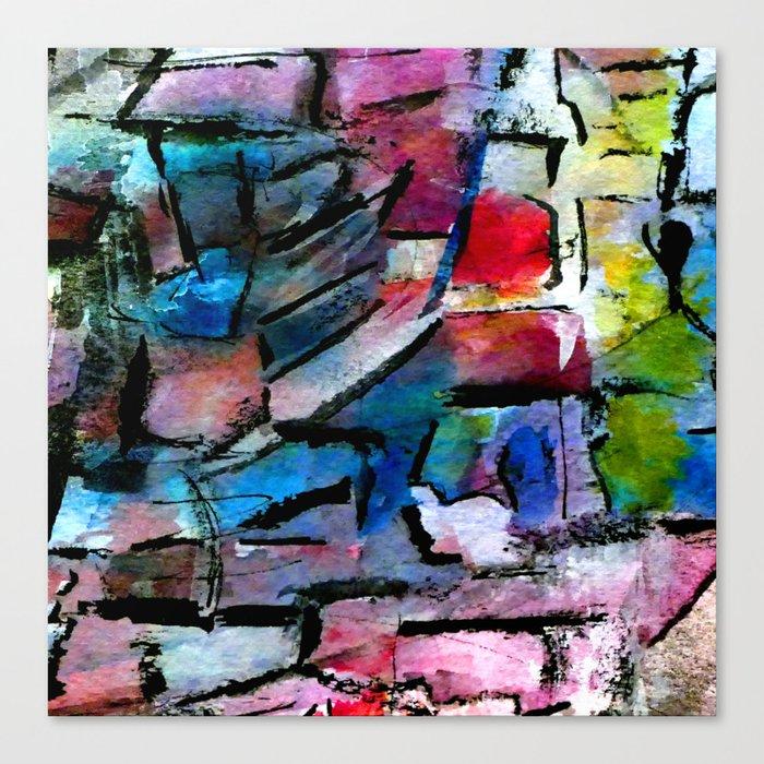 culture landscape Canvas Print