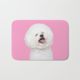 Laughing Puppy Bath Mat