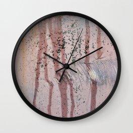 Auto Rainstorm Wall Clock