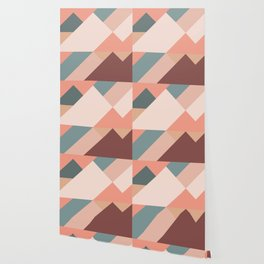 Geometric Mountains 01 Wallpaper