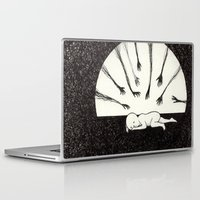 anxiety Laptop & iPad Skins featuring Anxiety 2 by Felicia Chiao