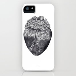 Lilac Heart iPhone Case